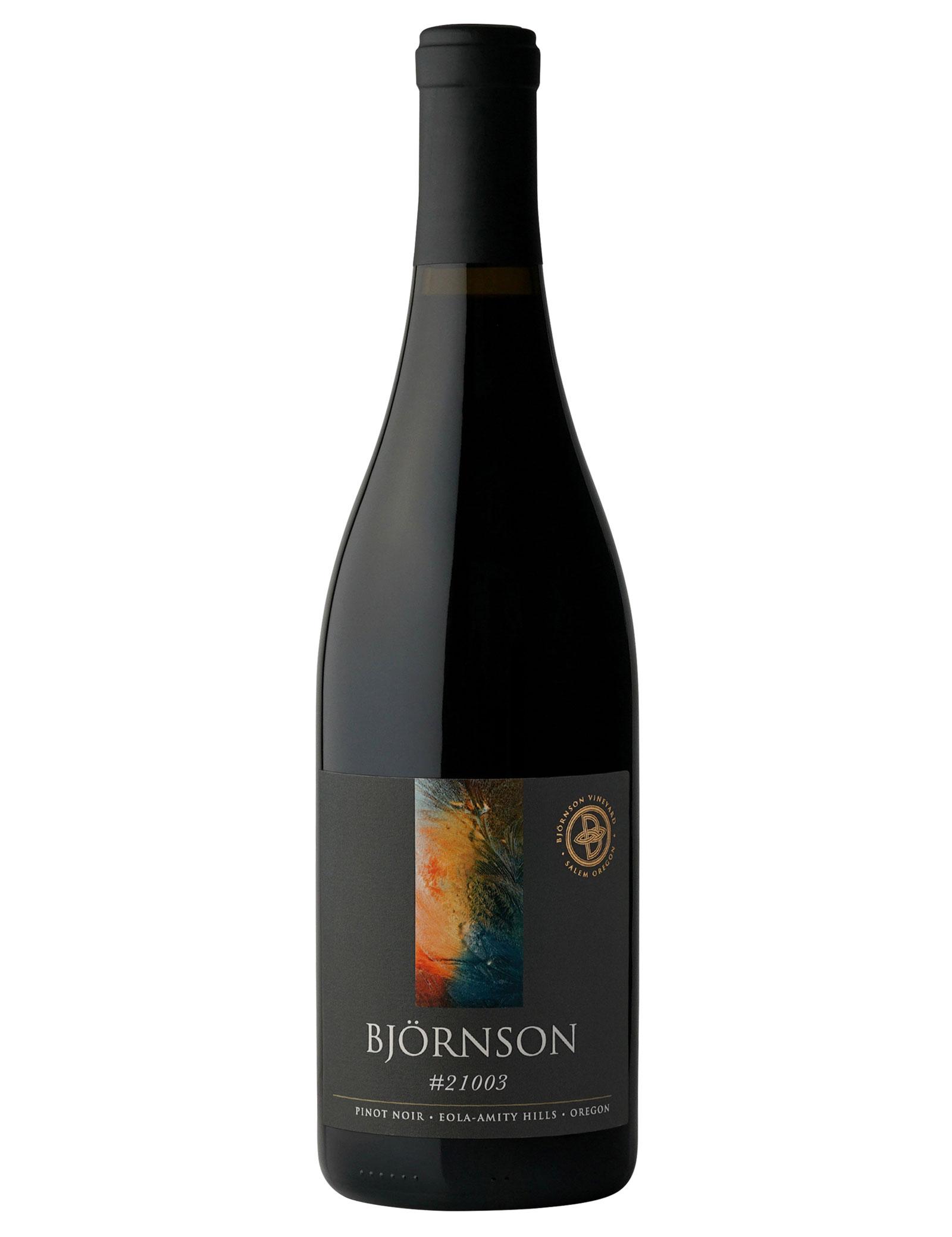 Bjornson #21003 Pinot noir Eola-Amity Hills Oregon